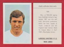 Leeds United Mick Jones England 100